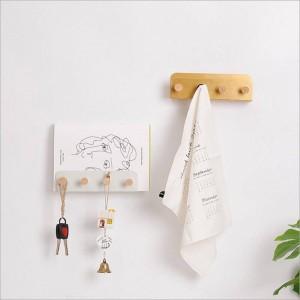 ホームオフィスの装飾オーガナイザーのための壁ヨーロッパ現代服雑貨雑誌の棚のための多機能金属収納フック棚