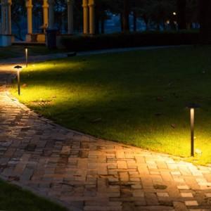 きのこの形は芝生ランプ防水通路を導いたきのこ景色ライト庭別荘Ledバー屋外照明経路ランプ