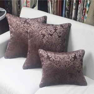 新しいヨーロッパ紫色のromaticクッションカバー高級ソファ装飾的な投球枕クッションカバー家の装飾almofada cojines結婚式