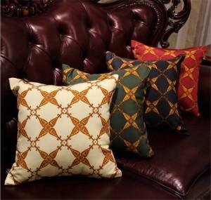 新しい家の装飾枕カバーヨーロッパの高級クッションカバー布生地投げ枕ケース寝室のソファ枕カバーギフト、1ピース
