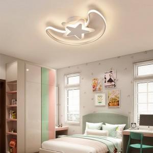 新しいled天井形状丘の装飾plafonnier ledリビングルームの寝室現代ホーム調光照明照明器具teto