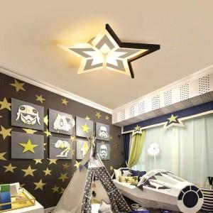 新しい星/月/雲の寝室の子供部屋のluminaria de tetoのモダンな天井白/黒の天井灯