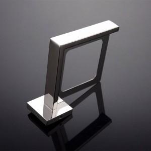 新しいスタイルクローム/ブラックカラー浴室ステンレス鋼浴室トイレブラシホルダー壁掛け浴室付属品9155K