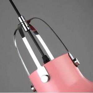 北欧のポストモダンな寝室のペンダントライトクリエイティブレストランバー照明器具デンマークシングルヘッドマカロンカラフルなつりランプ