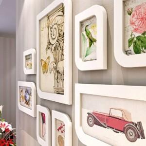 フォトフレームコンビネーションウォールフレームファッションフォトフレームフォトフレームウールボックス結婚式の装飾家の装飾ギフト