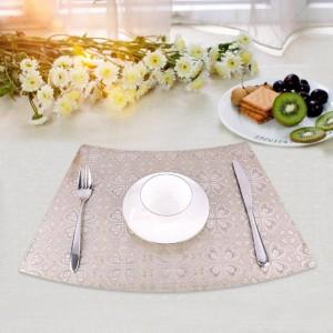 ポリ塩化ビニールの防水断熱材折りたたみ防カビないきれいにきれいにし、フードマットテーブルの装飾を絶縁するスキッド