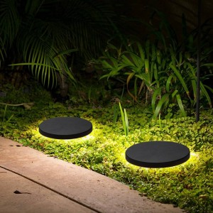 ラウンドled芝生ランプ屋外現代led芝生ライト防水中庭ガーデンウォールランプ風景ランプ屋内屋外照明