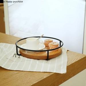 単層/二層ケーキスタンドパーティーウェディングフルーツプレートケーキスタンドデザート収納ラックデスクトップ木材収納トレイ