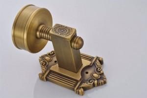 トイレブラシホルダーアンティーク真鍮ウォールマウントブラシホルダーセラミック便器クリーンバスルームアクセサリートイレブラシセット9130K