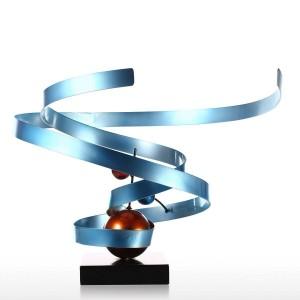 星雲抽象錬鉄彫刻家の装飾抽象デスクトップ装飾現代のデスクトップ彫刻