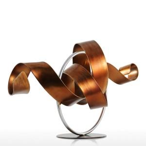 像リグル現代彫刻抽象彫刻金属抽象彫刻鉄家の装飾部屋デスク飾り