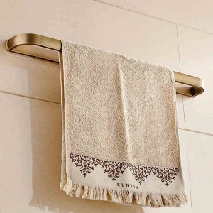 タオルバー60センチソリッドブラス浴室の棚タオルホルダーハンガータオルシングルレールの壁浴室アクセサリータオルラックF81324