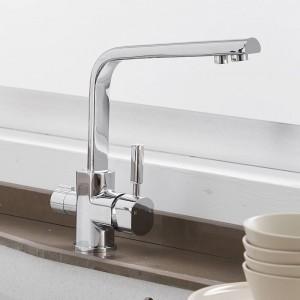 浄水栓キッチン蛇口真鍮ミキサー飲むキッチン清浄化蛇口キッチンシンクタップ水タップクレーン用キッチンLAD-0188