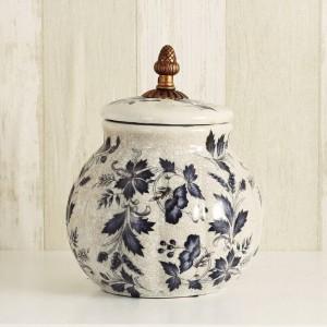 結婚式の装飾ヨーロッパのクリエイティブ装飾キャンディ缶セラミック製品茶缶ヨーロッパのセラミックタンク郷愁ホームギフト
