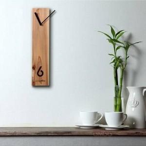 木製時計クリエイティブ木製時計丸太時計サイレントデザインリビングルームの壁時計オフィスの会議用テーブル