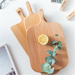 木製のまな板ブナピザパンフルーツ野菜まな板ぶら下げ耐久滑り止めホームキッチンツールアクセサリー